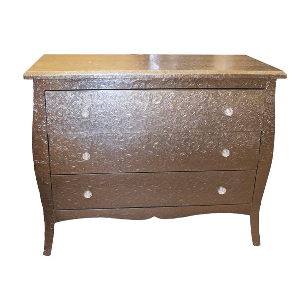 Breckenridge 3 Drawer Accent Chest by Bungalow Rose