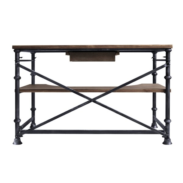 Kloss Solid Wood Writing Desk