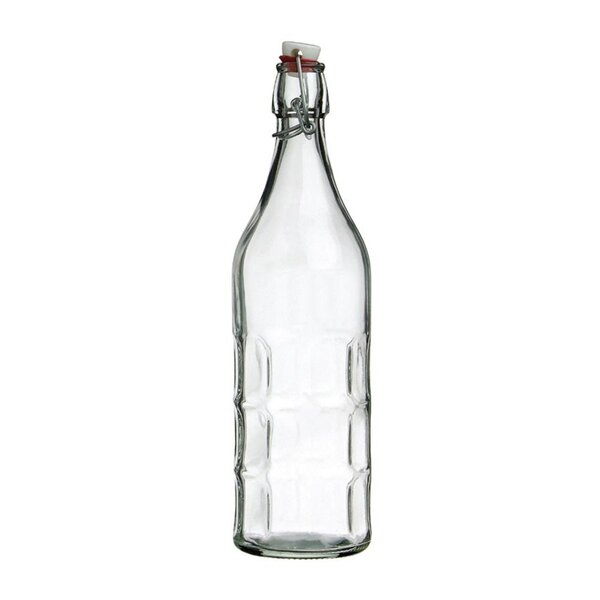 Culaccino Swing Top Round 34 oz. Glass Bottle by Vandue Corporation