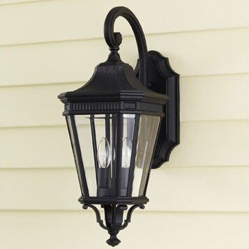 Chesterhill 2-Light Outdoor Wall Lantern by Darby Home Co