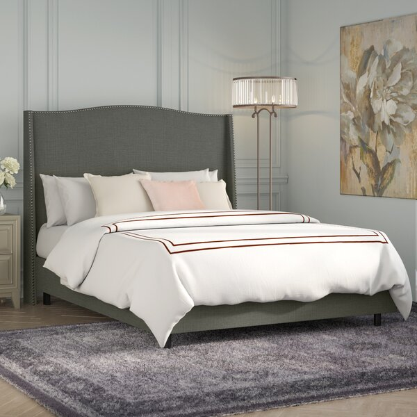 Adamczyk Upholstered Standard Bed by Willa Arlo Interiors