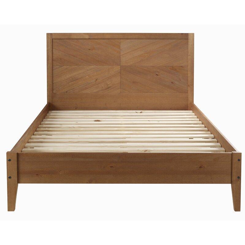 Gracie Oaks Schrimsher Queen Solid Wood Platform Bed Reviews