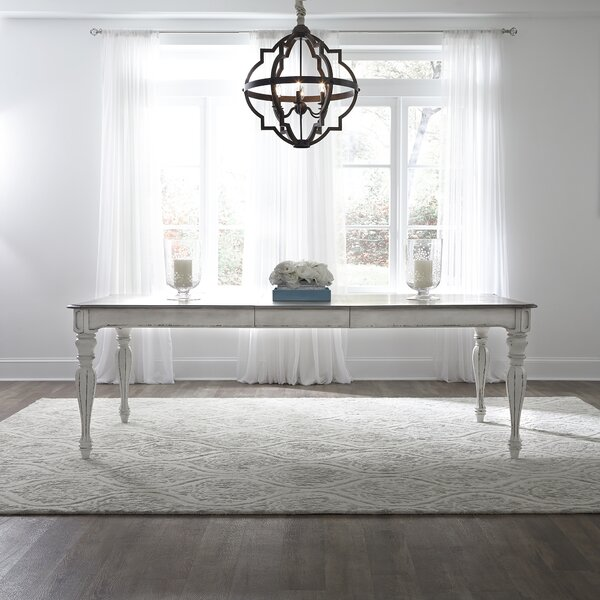 #1 Tiphaine Extendable Dining Table By Lark Manor Best Design