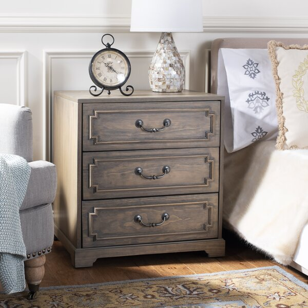 Kanagy 3 Drawer Nightstand by Darby Home Co