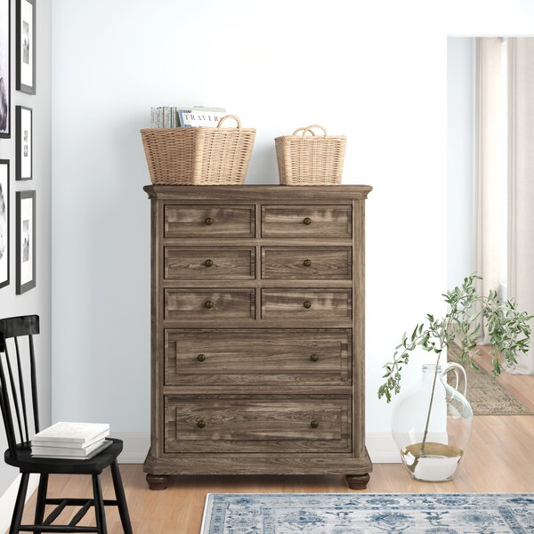Thames 8 Drawer Chest by Three Posts