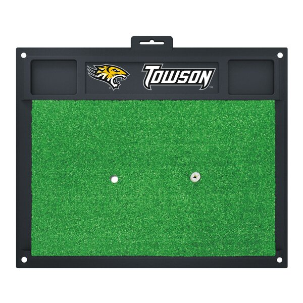 NCAA Towson University Golf Hitting Mat by FANMATS