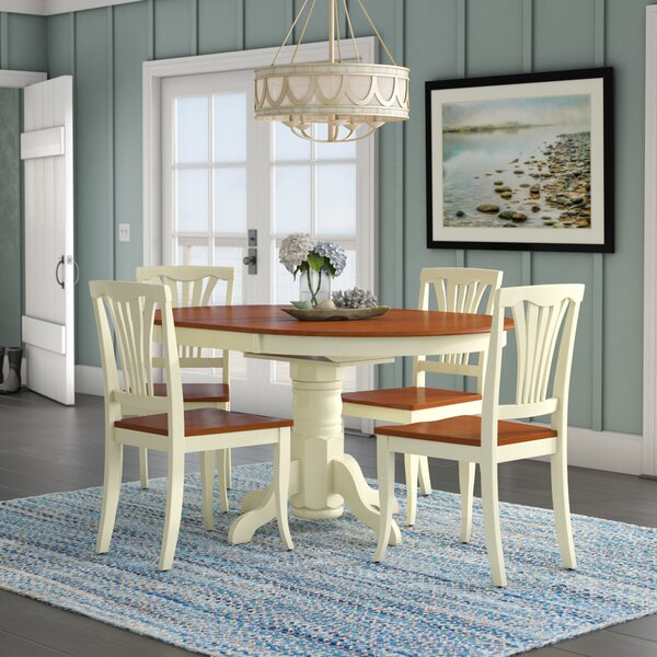 Norris 5 Piece Dining Set by Beachcrest Home