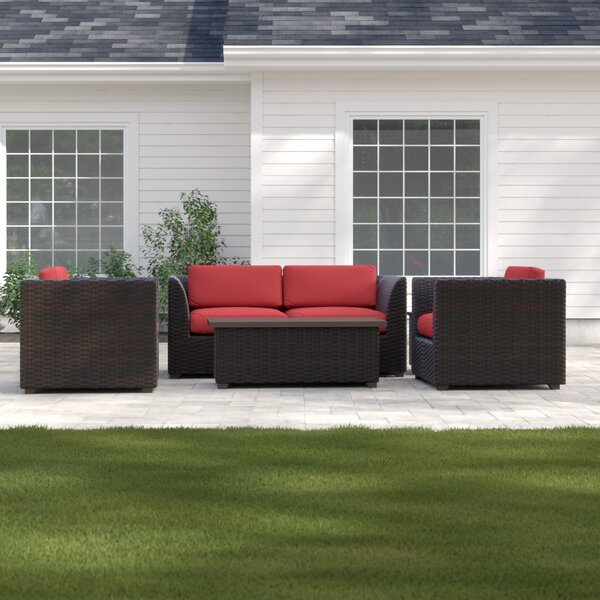 Tegan 7 Piece Sofa Seating Group with Cushions by Sol 72 Outdoor Sol 72 Outdoor