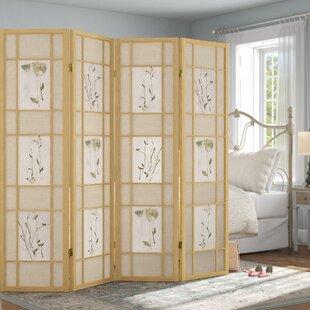 Shopping for Grimmett Shoji 4 Panel Room Divider ByOphelia & Co.