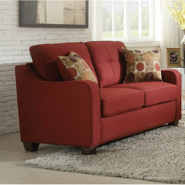 Cool Style Miraloma Loveseat by Darby Home Co by Darby Home Co