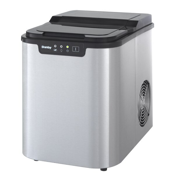 25 lb. Daily Production Portable Ice Maker by Danby
