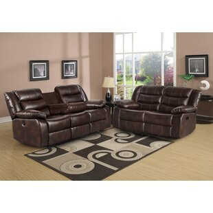 Trista 2 Piece Faux Leather Reclining Living Room Set by Red Barrel Studio®