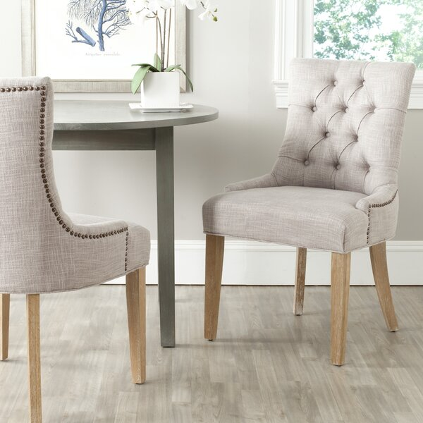 Fresh Tamara Upholstered Dining Chair (Set Of 2) By Ophelia & Co. Coupon