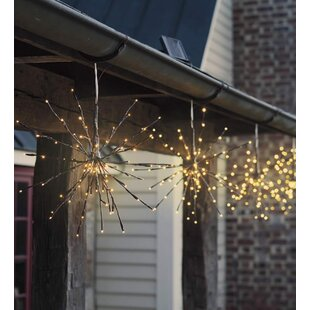Searching for Hanging Solar Twig Lights LED Outdoor Chandelier (Set of 2) By Wind & Weather