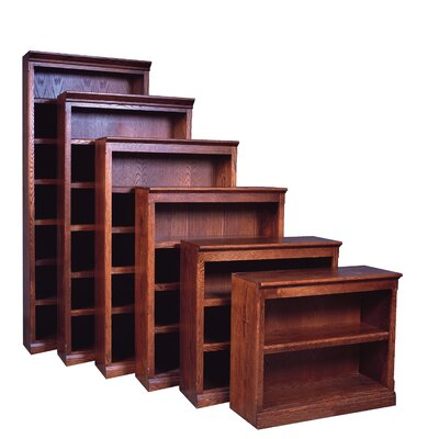 Ambriz Standard Bookcase Loon Peak Finish: Chestnut Oak