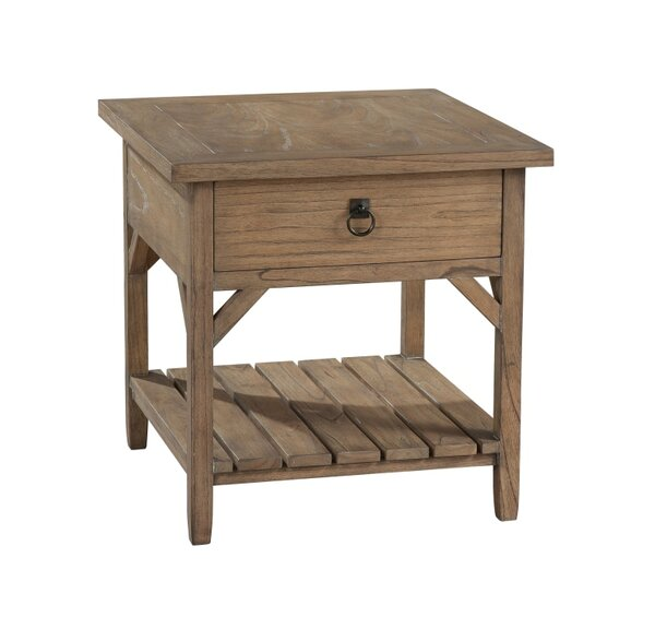 Viroqua End Table by Gracie Oaks