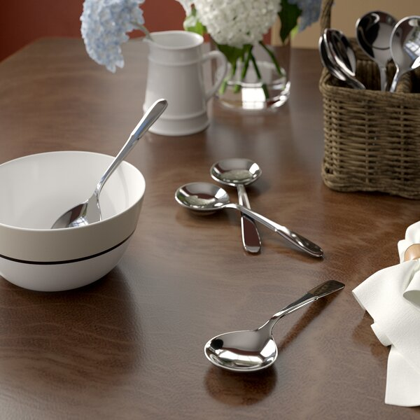 Greenhill Soup Spoon (Set of 8) by Three Posts