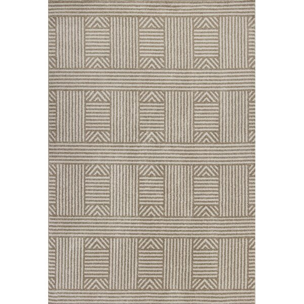 Lowesdale Beige Indoor/Outdoor Area Rug by George Oliver