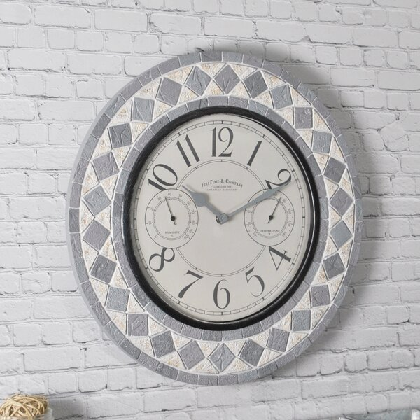 Patio Pavers 15 Wall Clock by FirsTime