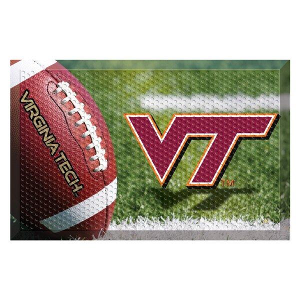 Virginia Tech 30 in. x 19 in. Non-Slip Outdoor Door Mat
