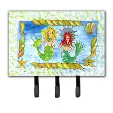 Mermaid Key Holder by Caroline's Treasures