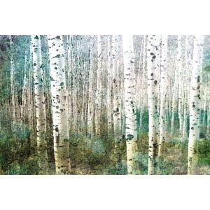 'Aspen Green' by Parvez Taj Painting Print on Wrapped Canvas by Mercury Row