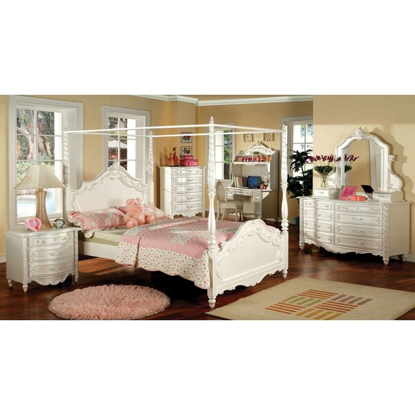 Seligman Canopy Configurable Bedroom Set by Rosdorf Park