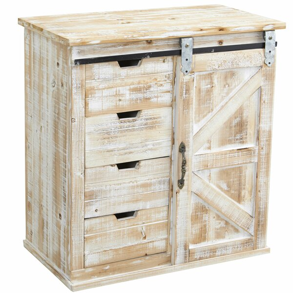 Dunford Sliding 1 Door Accent Cabinet By Gracie Oaks