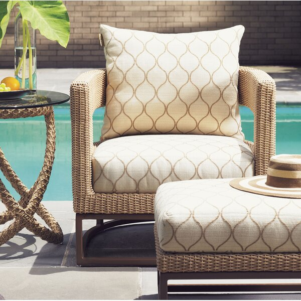 Aviano Patio Chair with Cushion by Tommy Bahama Outdoor