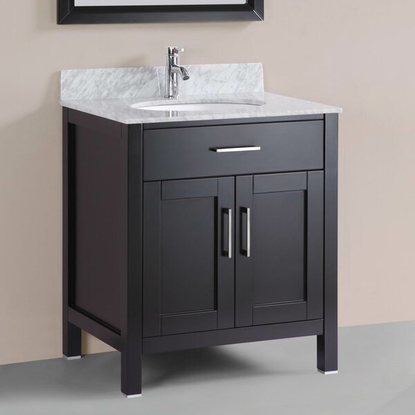 Freestanding Modern 30 Single Bathroom Vanity Set by Belvedere Bath