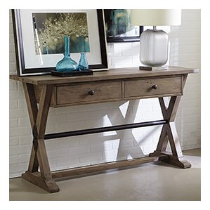 Samar Rectangle Console Table by 17 Stories