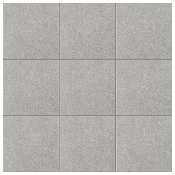 Forties 7.75 x 7.75 Ceramic Field Tile in Gray by EliteTile