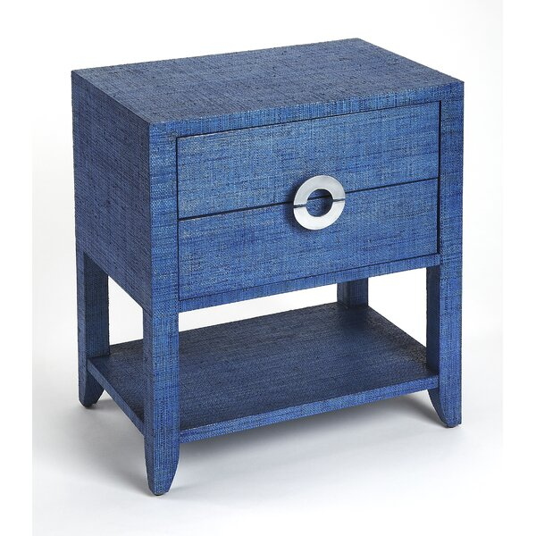 Painswick End Table with Storage by Everly Quinn