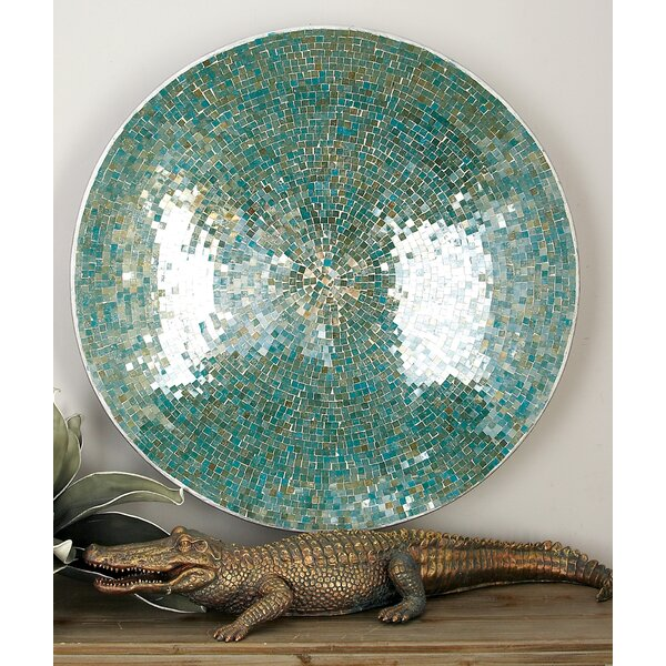 Metal Mosaic Wall Platter by Cole & Grey