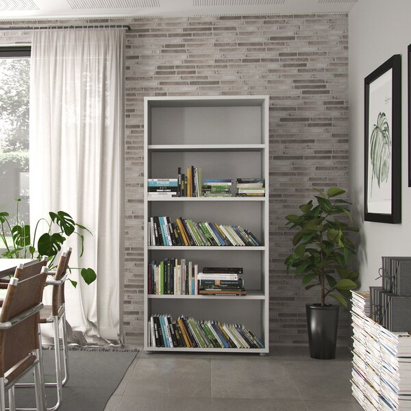Murphree Standard Bookcase By Latitude Run Fresh