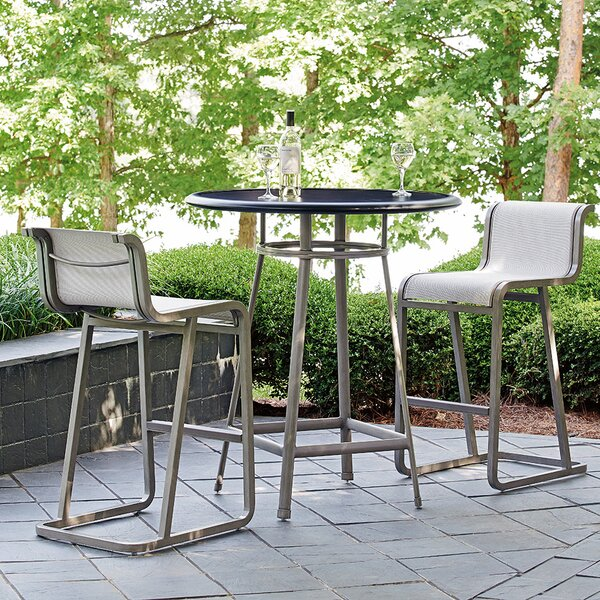 Del Mar 3 Piece Table Bistro Set