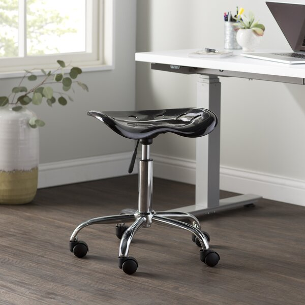 Wayfair Basics Height Adjustable Industrial Stool by Wayfair Basics™