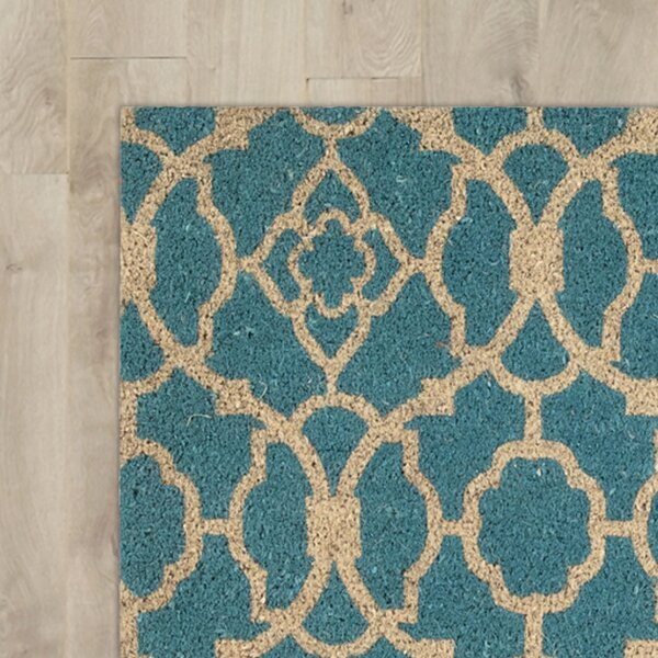 Greetings Lovely Lattice Doormat by Waverly