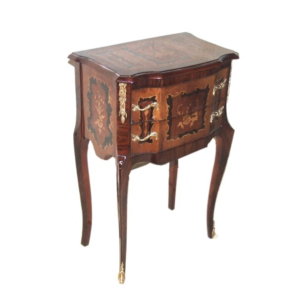 Maguire End Table with Storage by Astoria Grand