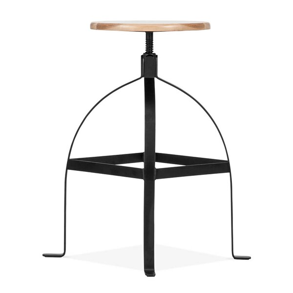 Adjustable Height Swivel Bar Stool by Design Lab MN