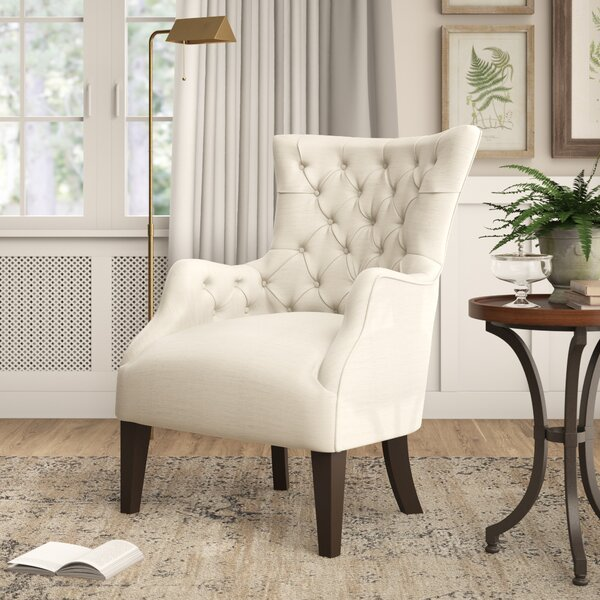 Steelton Button Wingback Chair by Birch Lane Heritage Birch Lane™ Heritage
