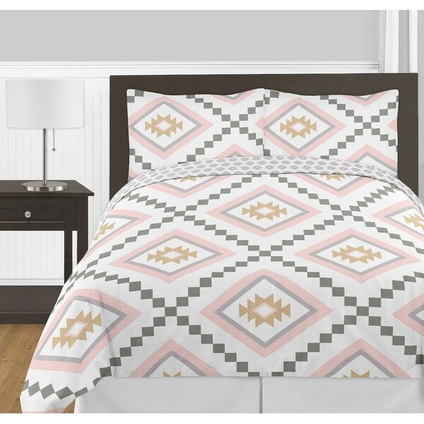 Aztec Reversible Comforter Set by Sweet Jojo Designs