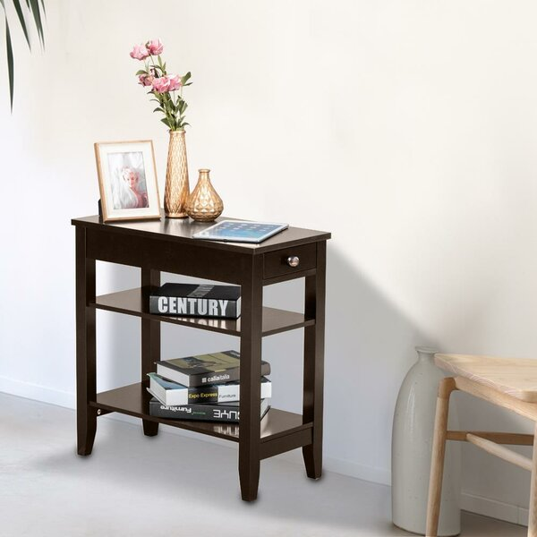 Effervescence 1 Drawer End Table With Storage By Winston Porter