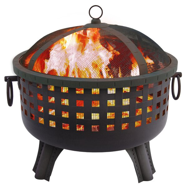 Garden Lights Savannah Wood Burning Fire Pit by Landmann