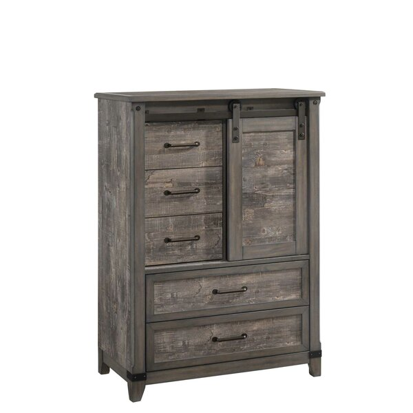 Forest Hill 2 Tone 5 Drawer Gentlemans Chest by Gracie Oaks