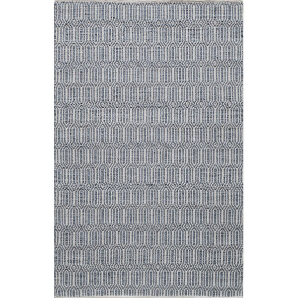Hand-Woven Navy Area Rug by The Conestoga Trading Co.
