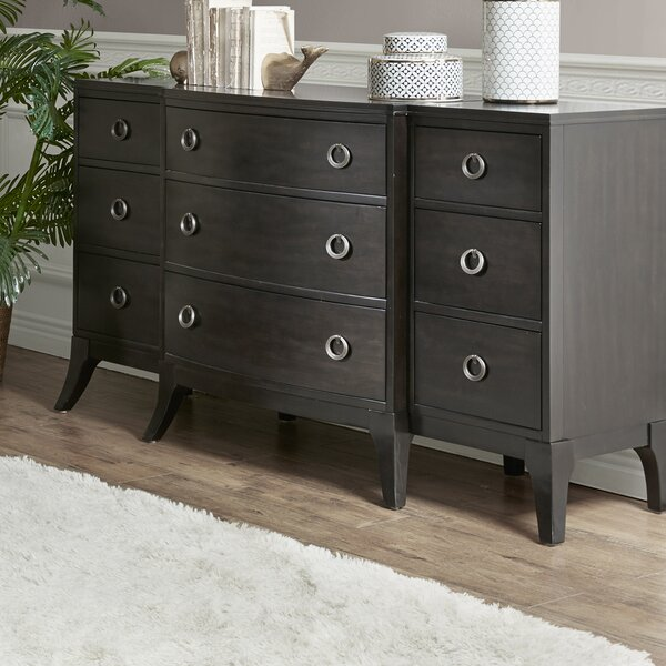 Burgess 9 Drawer Double dresser by Madison Park Signature