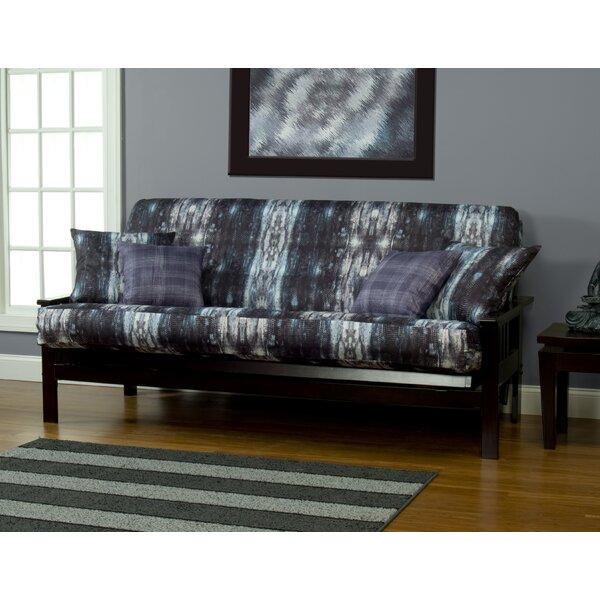 Home Décor Madalyn Zipper Box Cushion Futon Slipcover