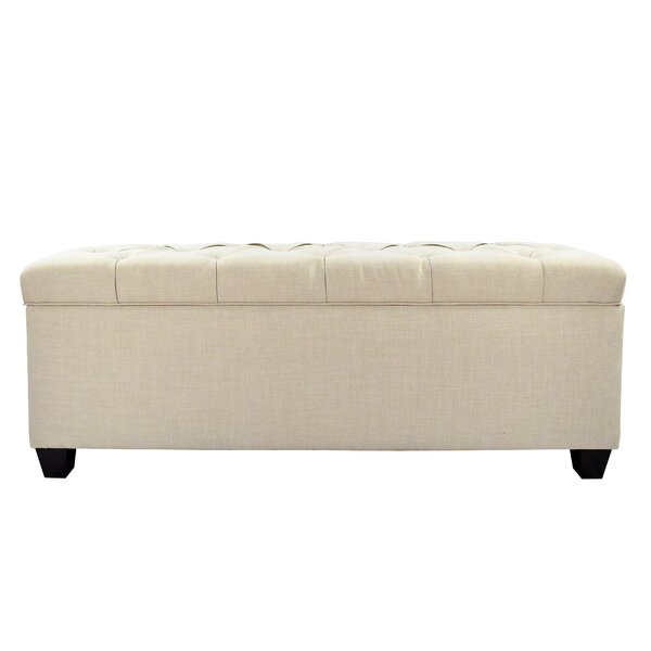 Erik Wood Storage Bench by Darby Home Co