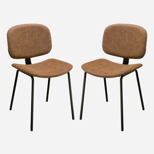 Tejada Upholstered Dining Chair (Set of 2) by Williston Forge